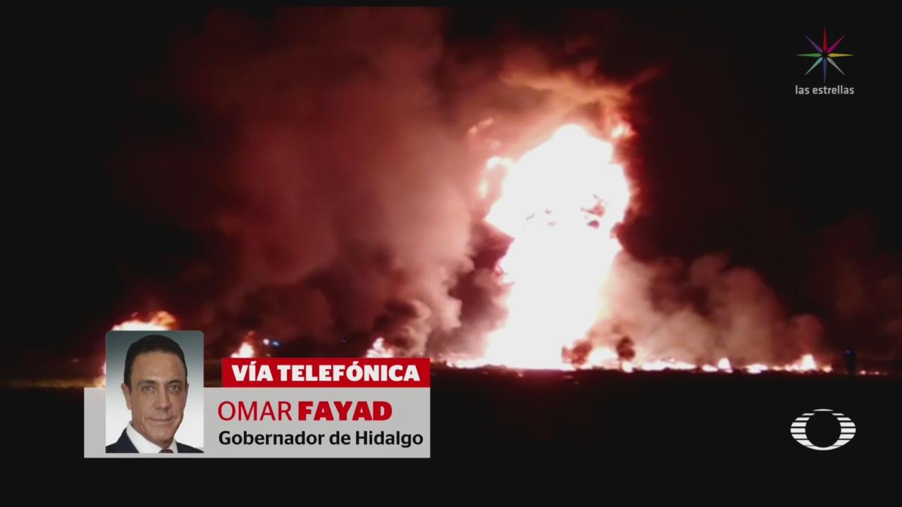 Suman 21 Muertos Explosión Confirma Gobernador Hidalgo