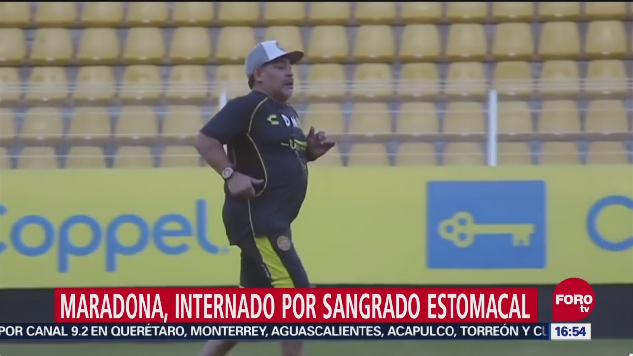 Maradona, Hospitalizado Por Sangrado Estomacal, Diego Armando Maradona, Fuera De Peligro, Hospital De Buenos Aires, Argentina