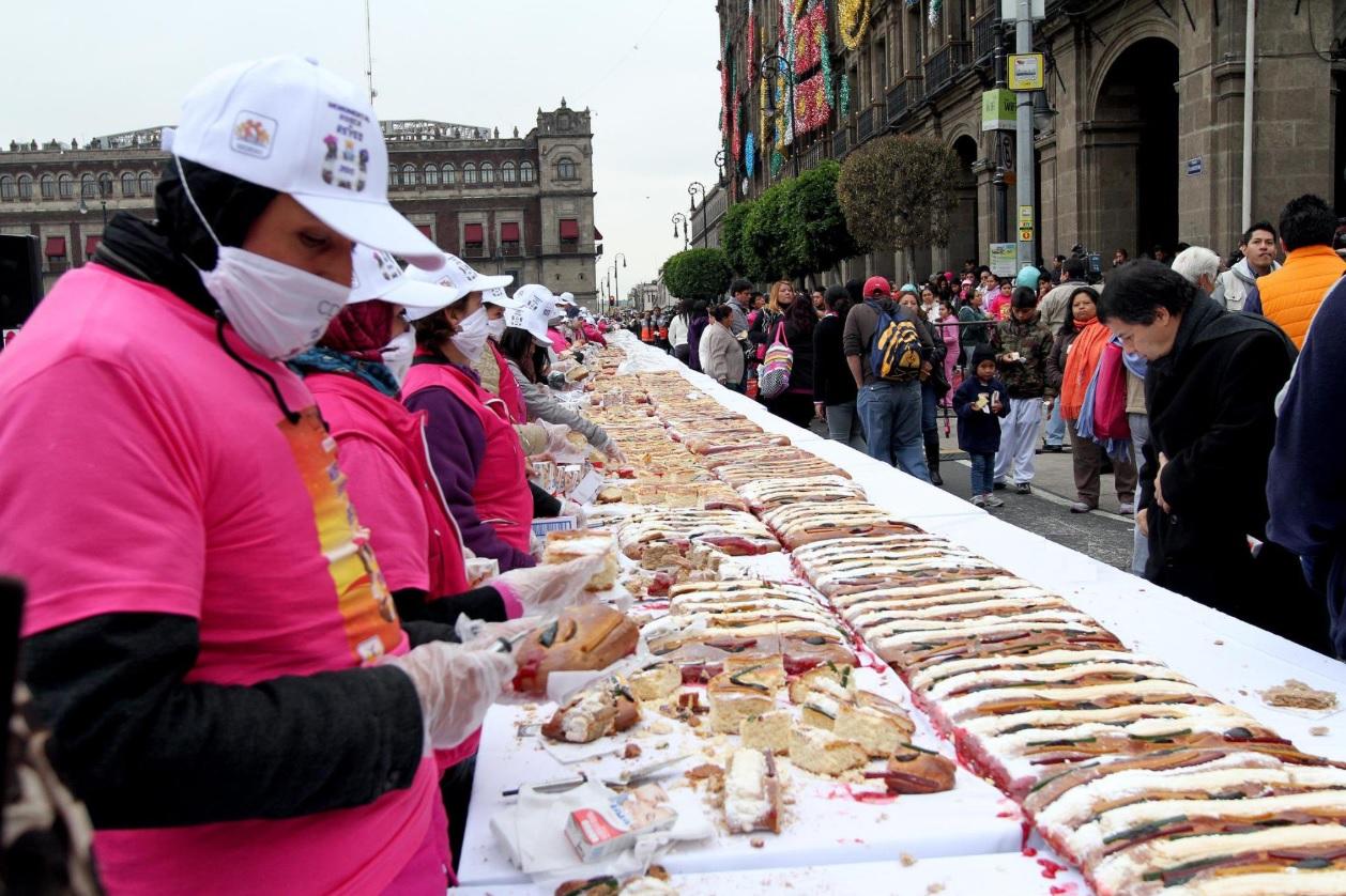 Dónde comer mega Rosca de Reyes este fin de semana en CDMX