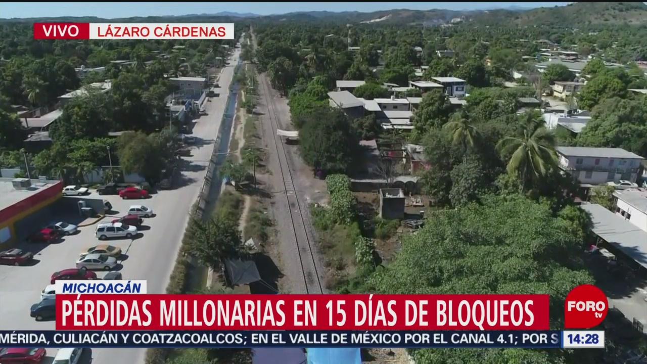 Mercancía varada en Lázaro Cárdenas requerirá 75 días para salir