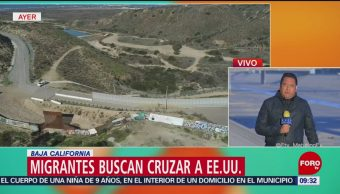 Migrantes centroamericanos en Tijuana seguirán intentando cruzar a EU