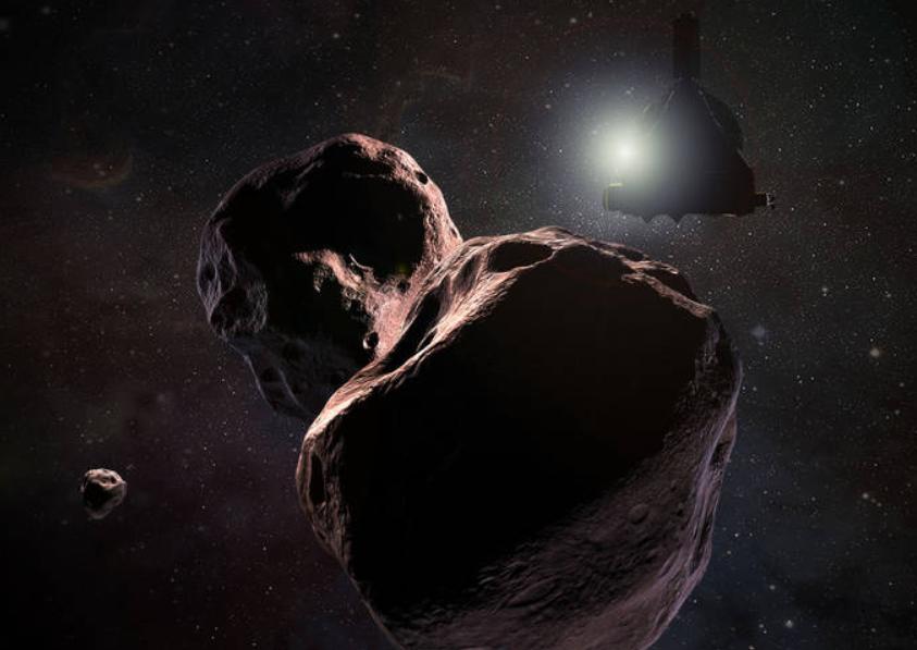 New Horizons sobrevuela objeto celeste más lejano explorado