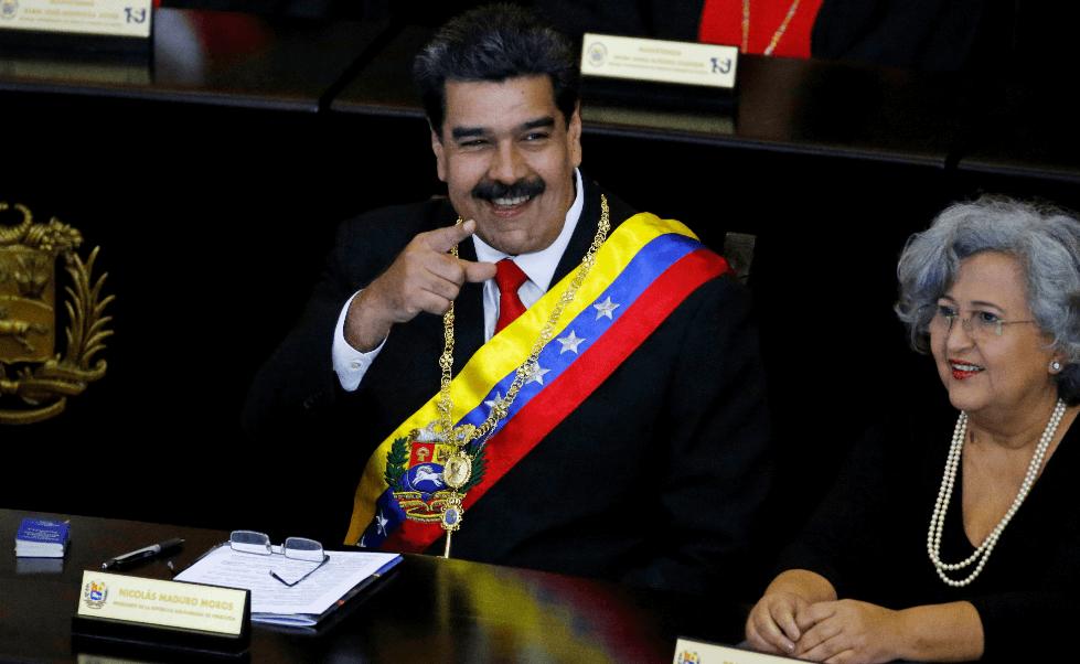 Foto: Nicolás Maduro, presidente de Venezuela, 24 enero 2019, Caracas