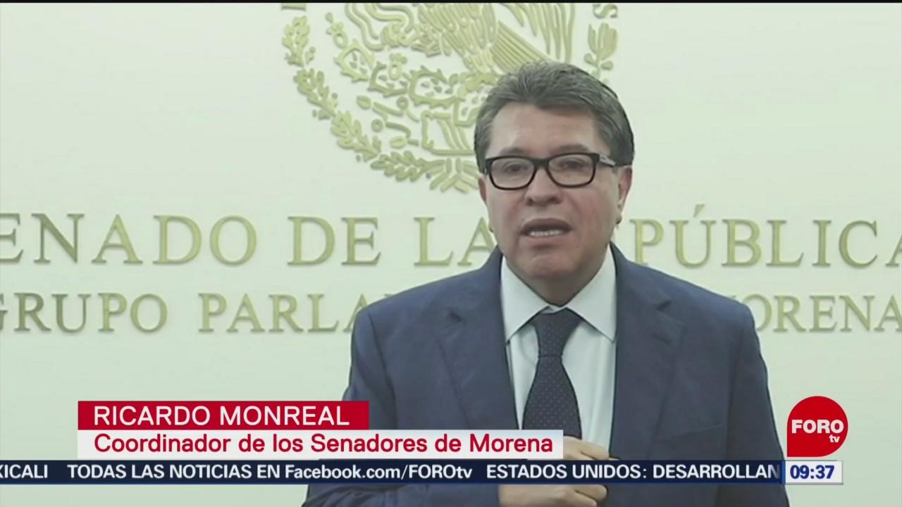Niega Monreal intervención en huelga de maquiladoras en Matamoros