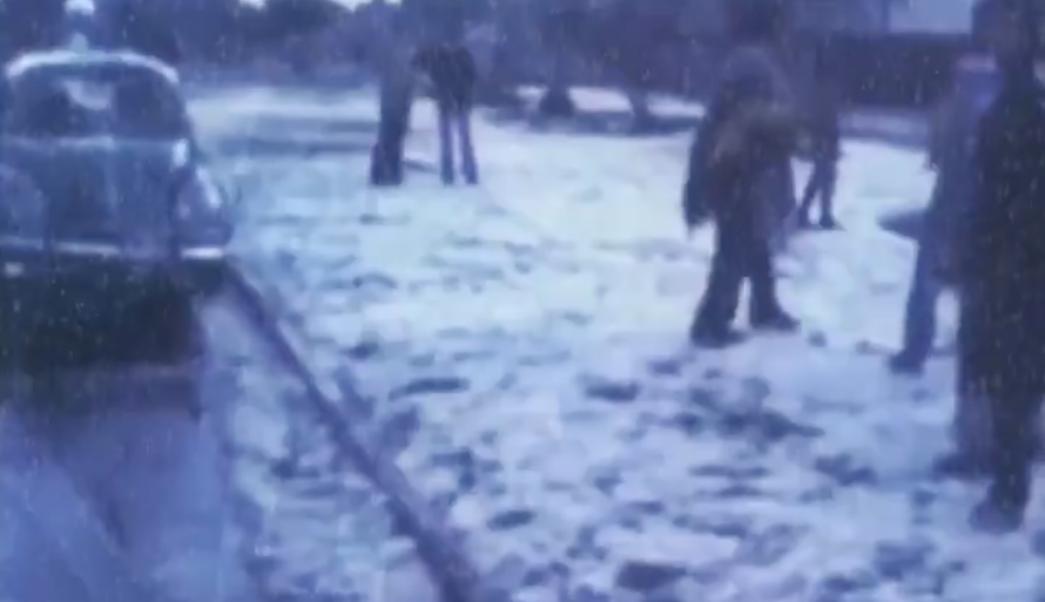 Cayó Nieve CDMX 52 Años Conagua