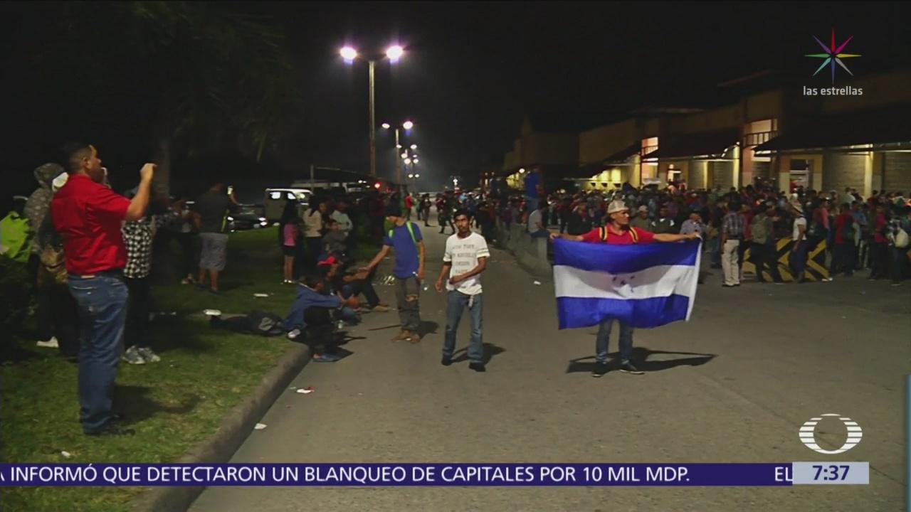 Nueva caravana migrante se agrupa en Centroamérica
