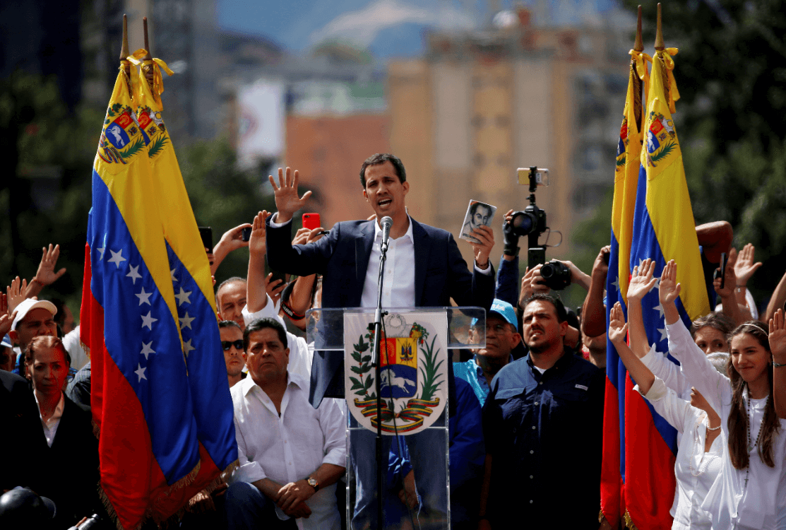 Foto: Juan Guaidó se autoproclama presidente Venezuela, 23 enero 2019, Caracas