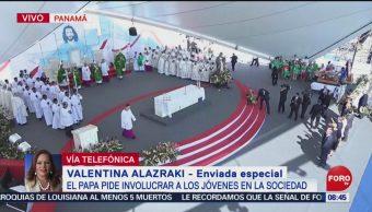 Foto:Papa Francisco dice a los jóvenes que no son el futuro sino el ahora, 27enero 2019
