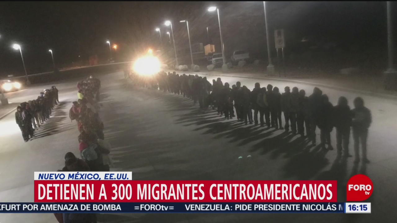Foto: Patrulla Fronteriza detiene a 300 migrantes centroamericanos