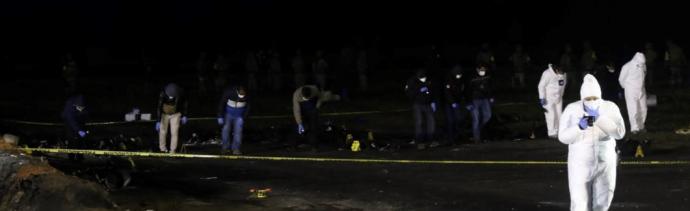 FOTO Explosión Tlahuelilpan: Suman 115 muertos / Hidalgo 20 enero 2019