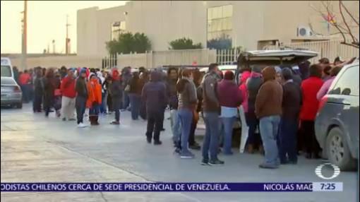 Piden al Gobierno federal resolver conflicto laboral de maquiladoras en Matamoros