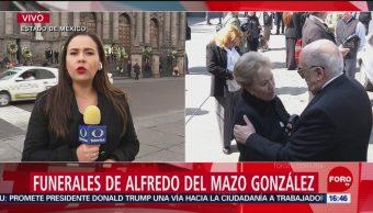Preparan ceremonia luctuosa en honor de Alfredo del Mazo González