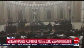 Puebla ya tiene gobernador interino