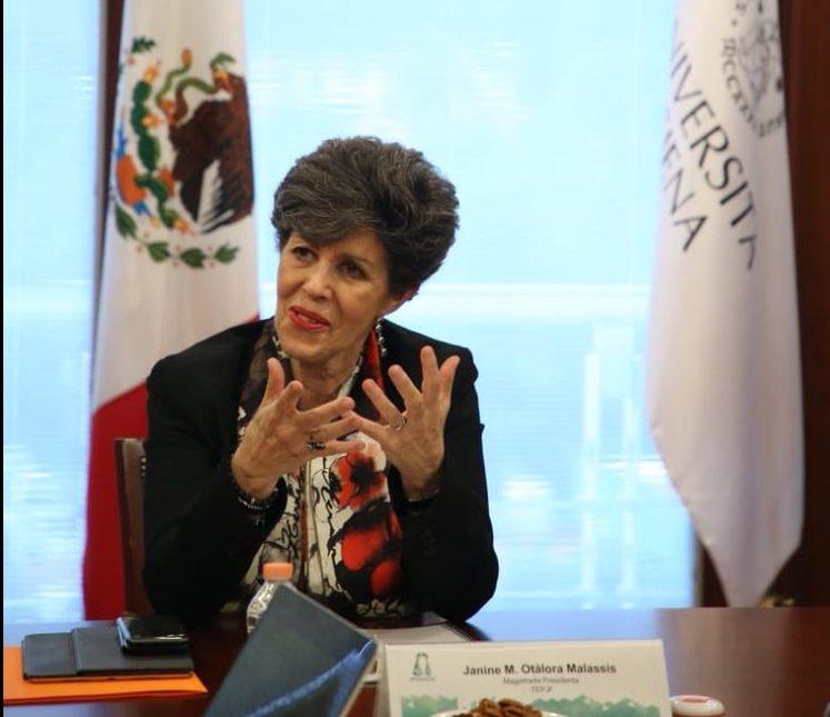 Renuncia Janine M. Otálora a la presidencia del TEPJF