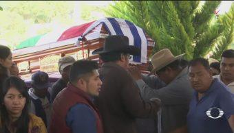 Rinden homenaje póstumo a alcalde de Tlaxiaco, Oaxaca