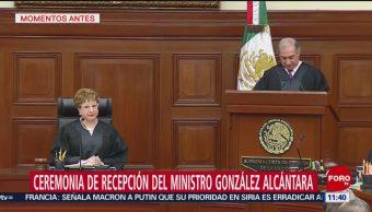 SCJN celebra investidura del ministro Juan Luis González Alcántara Carrancá