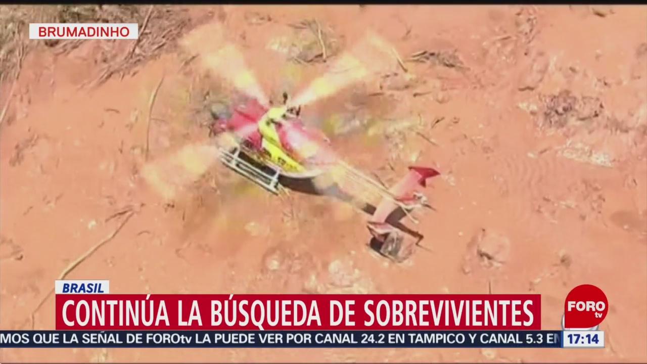 Foto, 26 enero 2019, Siguen los trabajos de rescate tras ruptura presa minera en Brasil