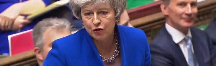 May afronta moción de censura tras rechazo de acuerdo Brexit