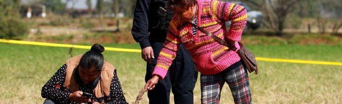 Con pruebas de ADN identificarán a víctimas de la explosión en Tlahuelilpan