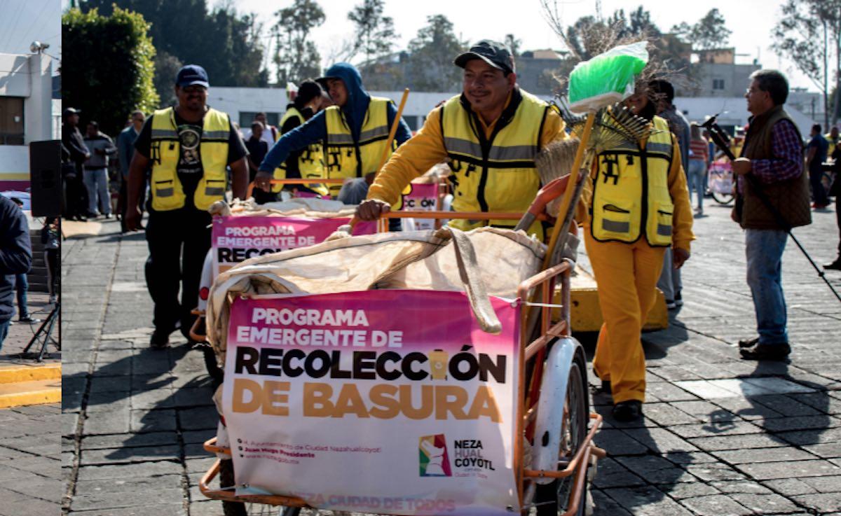 Triciclos Basura Nezahualcóyotl Recolección Gasolina Combustible