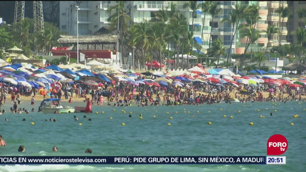 Último Fin De Semana Vacacional En Acapulco, Último Fin De Semana Vacacional, Acapulco, Playas De Acapulco, Guerrero