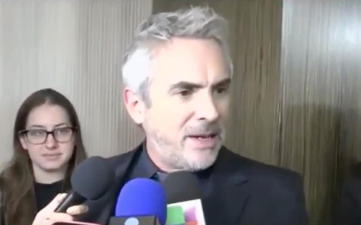 Foto Alfonso Cuarón 6 Febrero 2019