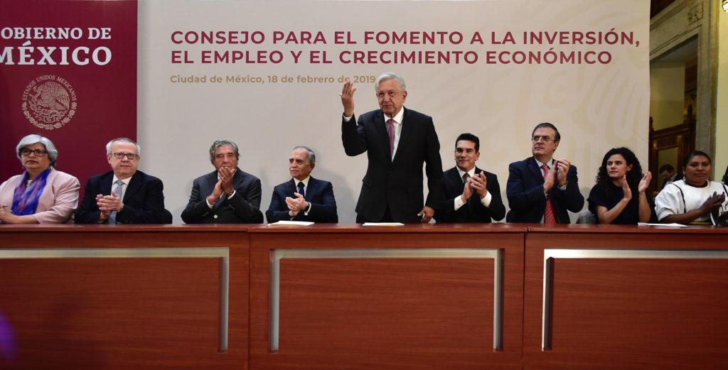 consejo mexicano de negocios, México, andrés manuel lópez obrador, lopreobrador.org, 18 febrero 2019
