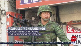 Arriban a Guerrero fuerzas federales para revertir la inseguridad