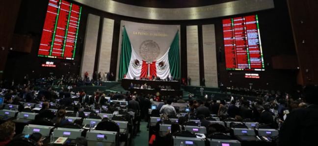 Foto: Cámara de Diputados en sesión, 12 abril de 2019
