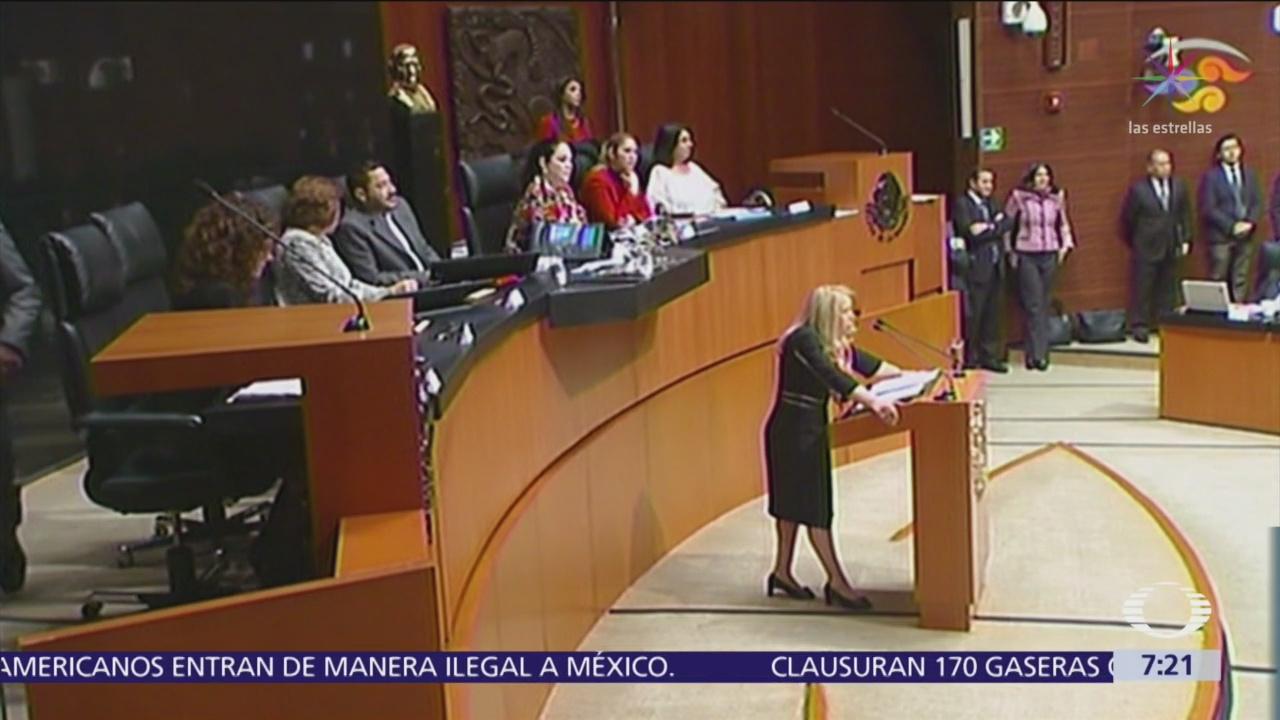 Candidatas para sustituir a Margarita Luna en SCJN comparecen