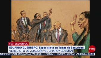 Foto: Cártel de Sinaloa seguirá funcionando, pero de manera distinta: Eduardo Guerrero