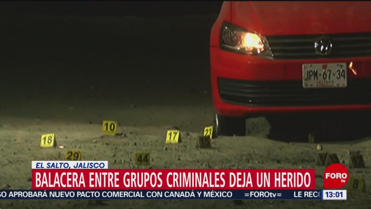 Foto: Delincuentes se enfrentan en El Salto, Jalisco