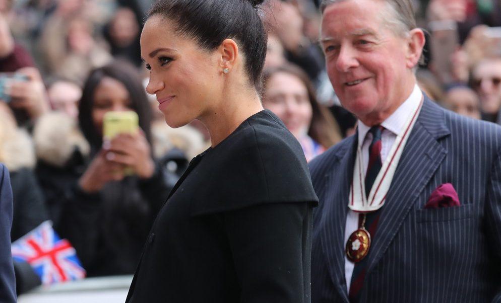 Foto: Meghan Markle, la duquesa de Sussex asiste a un compromiso con la Asociación de Universidades del Commonwealth, Inglaterra, febrero 10 de 2019 (Getty Images)