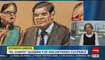 Foto: El Chapo Guzmán fue encontrado culpable