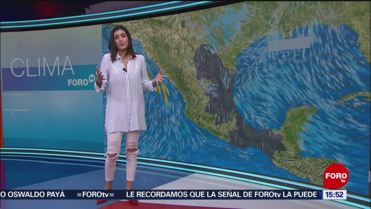 Foto: El Clima 'A las Tres' con Daniela Álvarez del 12 de febrero de 2019