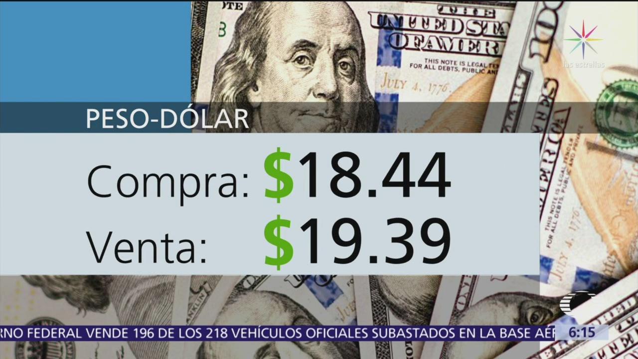 El dólar se vende en $19.39