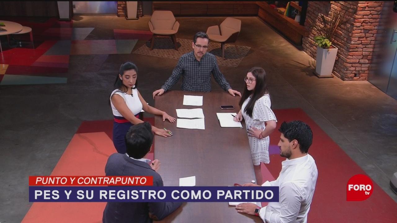 Foto: Partido Pes Encuentro Social Desaparecer México 26 de Febrero 2019
