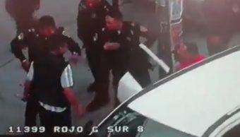 Policías de la PGJ y SSC se enfrentan en Iztapalapa