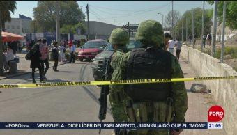 Foto: Falsa Alarma Artefacto Explosivo Naucalpan 18 de Febrero 2019