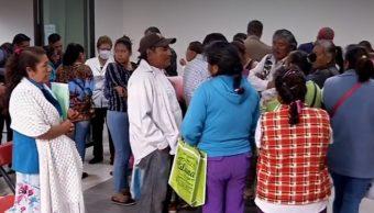 Deudos de víctimas de Tlahuelilpan reciben apoyos del Gobierno Federal