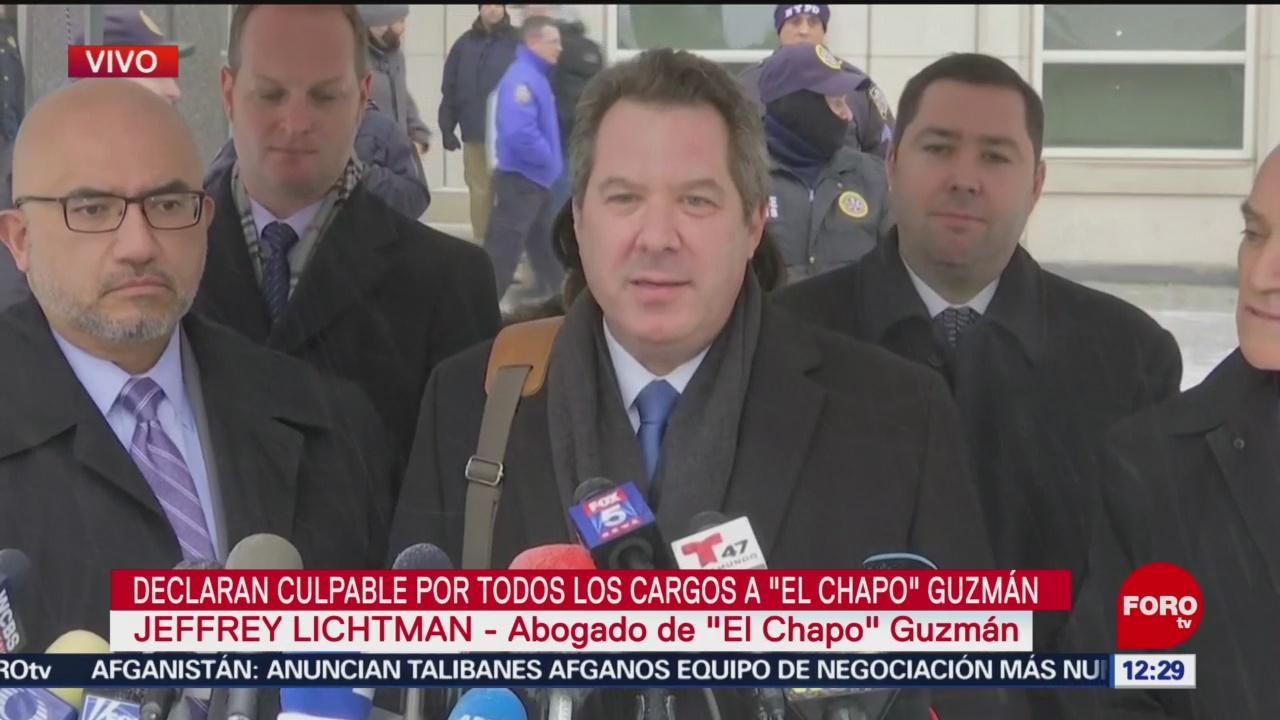 Fue un honor y placer trabajar para 'El Chapo', dice abogado de Guzmán Loera