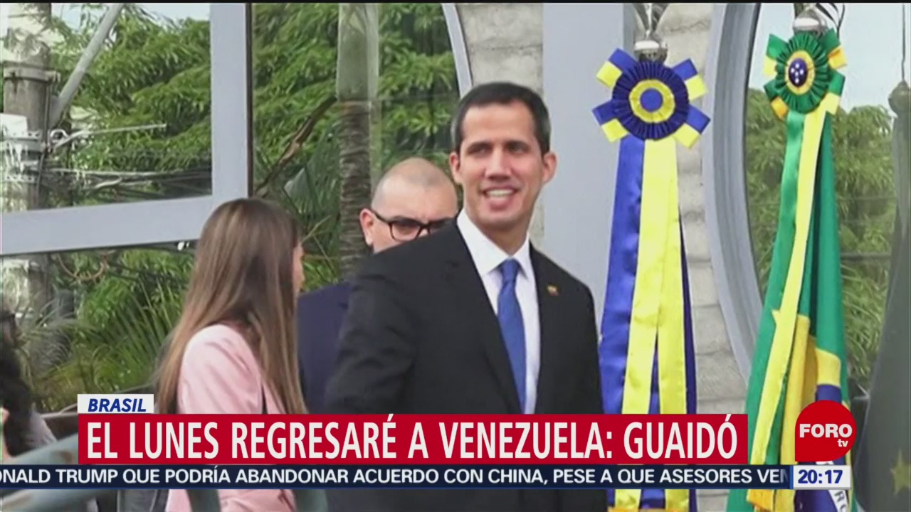 Foto: Guaidó Regresará Venezuela Amenazas Maduro28 de Febrero 2019