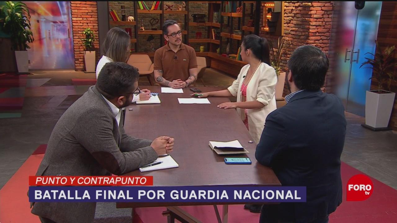 Foto: Guardia Nacional Discusión Batalla Senado 20 de Febrero 2019
