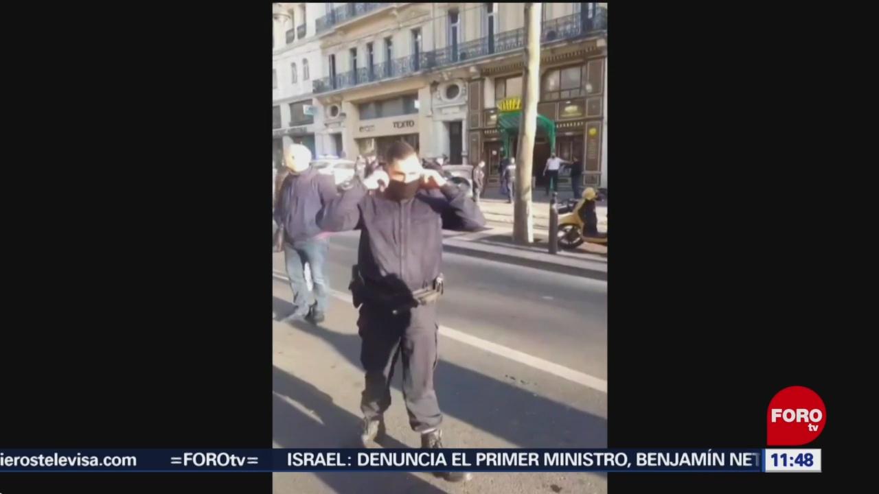 Hombre ataca con cuchillo a varias personas en Marsella