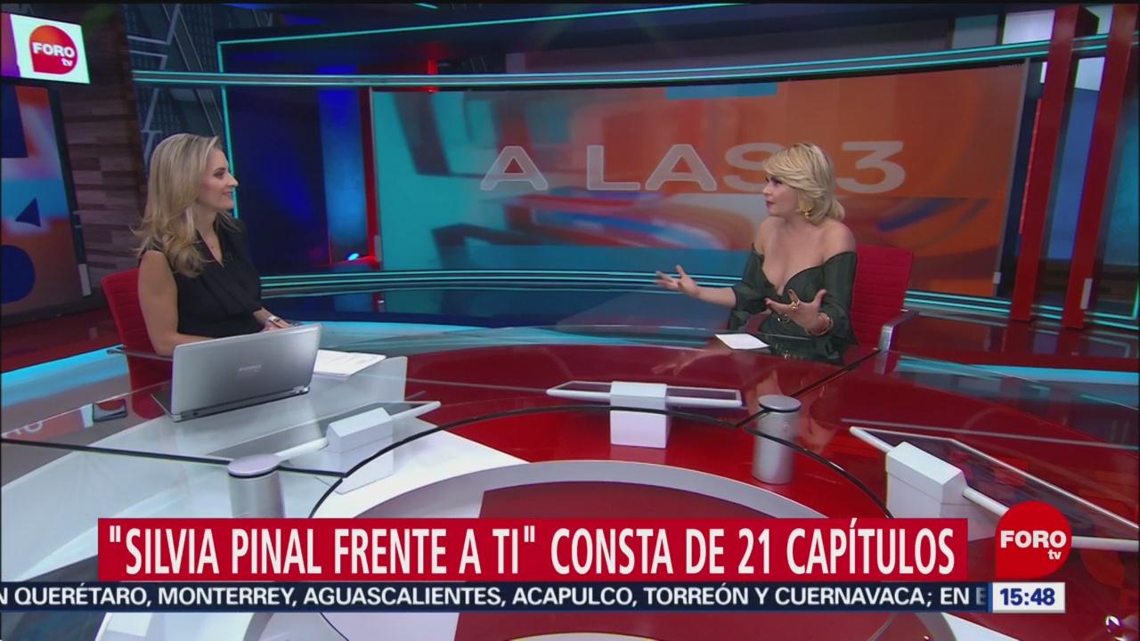 Foto: Itatí Cantoral habla de su papel en 'Sivia Pinal frente a ti'