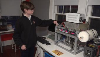 foto Adolescente crea reactor de fusión nuclear en laboratorio casero 25 febrero 2019
