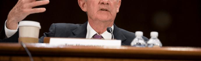 Foto: Jerome Powell, presidente de la Reserva Federal, 26 de febrero de 2019, Washington, Estados Unidos