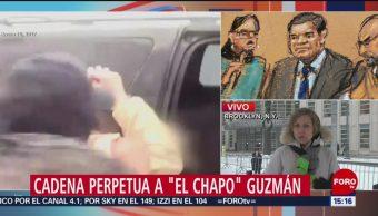 FOTO: Joaquín 'El Chapo' Guzmán es declarado culpable