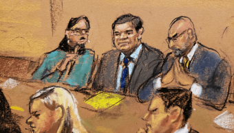 Foto: Juicio contra 'El Chapo' Guzmán en Nueva York