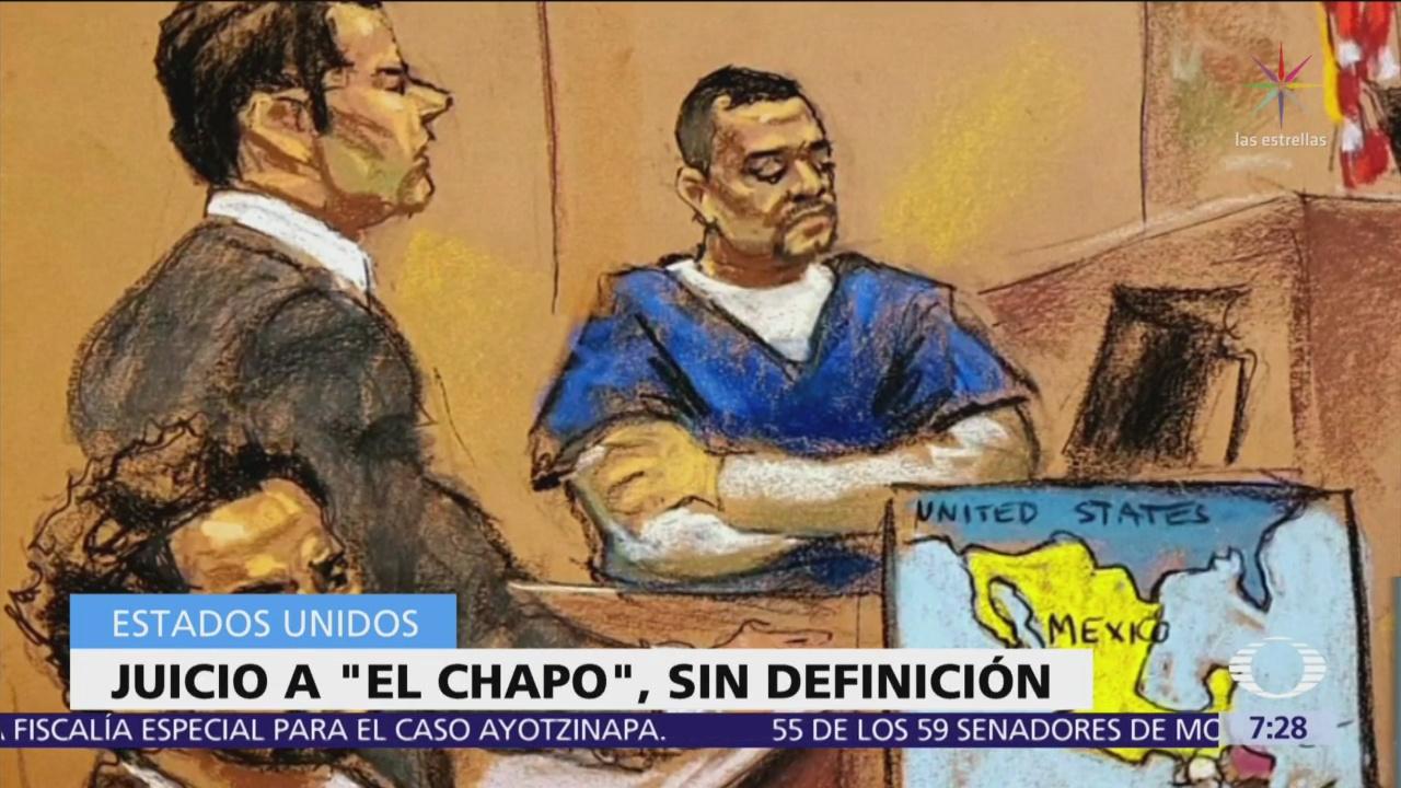 """Juicio contra """"El Chapo"""" Guzmán se extiende varios días"""